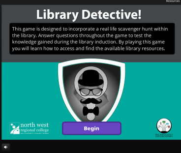 library detective